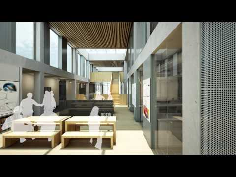 3D fly through of Lancaster's new Engineering Building