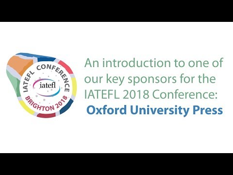 IATEFL Conference 2018 Sponsor: Oxford University Press