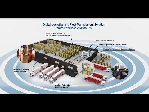 New Era of TingTong Logistics - Real-time Management from Warehouse to Logistics Fleets, Advantech