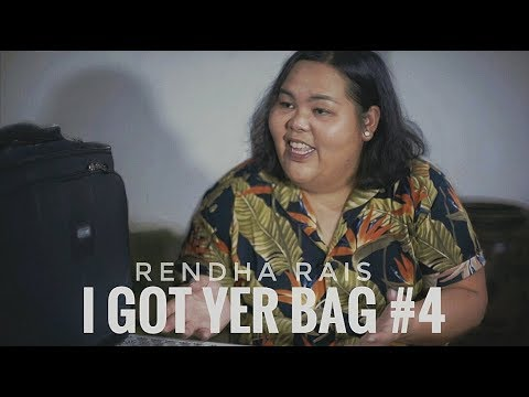 "I Got Yer Bag #4 ""Rendha Rais - Music & Portrait Photographer"""