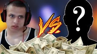 tyler1 vs viewer 1v1 for money w twitch chat reactions league of legends
