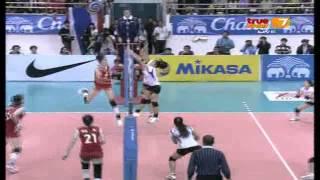 thailand china full match semi final avc championships 20 09 2013