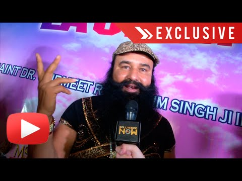 Exclusive : Gurmeet Ram Rahim Interview | MSG The Warrior Lion Heart