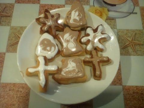 Русское печенье на праздник крещения. #суфикс