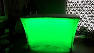 Dj Table Lighting Solution- Led Light Strip
