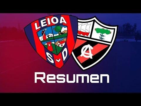 Resumen del SD Leioa - Arenas Club (0-1)