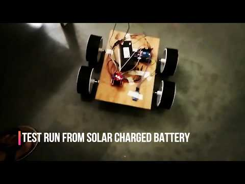 Avantika University - Remote Control Solar Powered Car