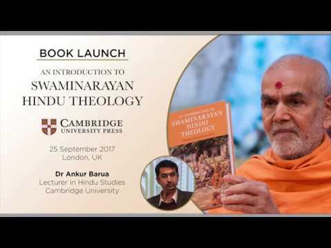 Dr Ankur Barua (Cambridge) on 'An Introduction to Swaminarayan Hindu Theology'