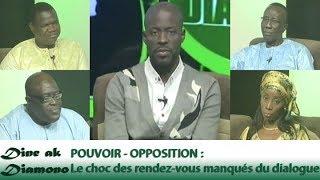 Dine ak Diamono (31 mai 2018) - POUVOIR - OPPOSITION : Le choc des rendez-vous manqués du dialogue