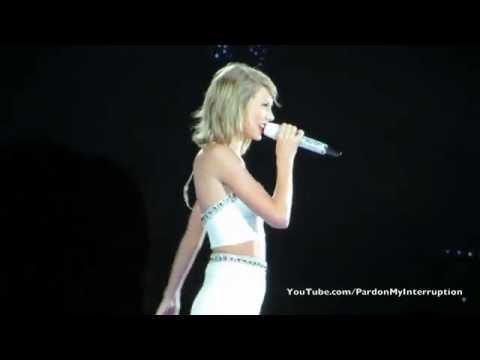 Taylor Swift Speech Before AYHTDWS-Gillette Stadium 07/25/15