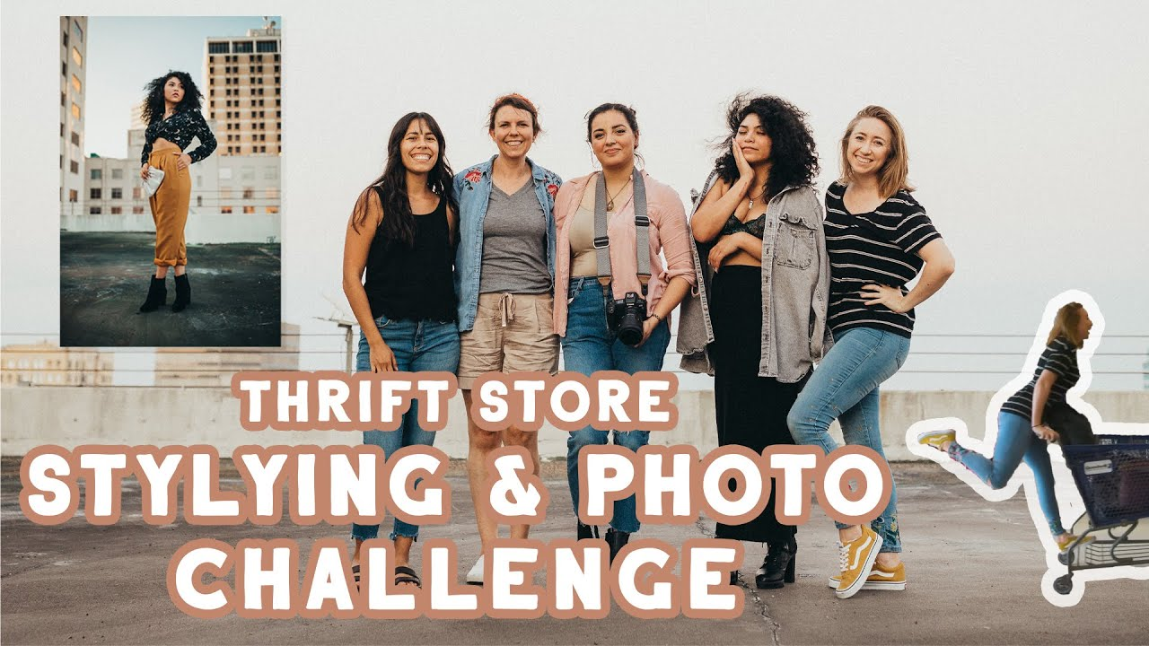 Thrift Store Styling Challenge