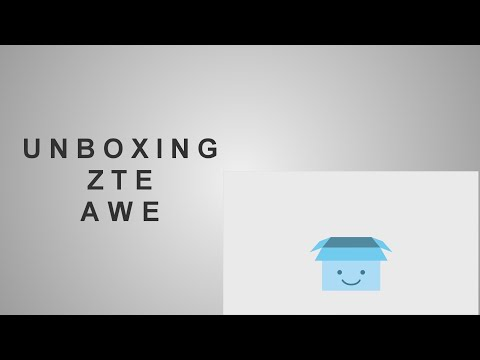 Unboxing Virgin Mobile Awe
