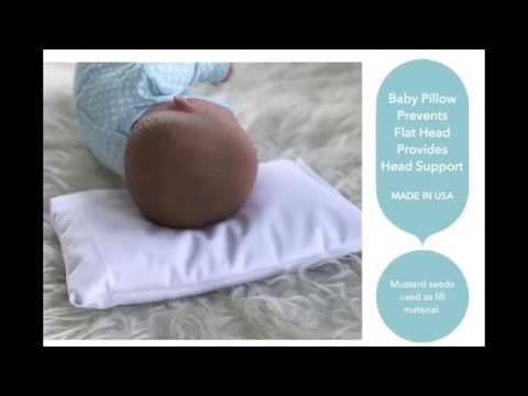 mustard seeds pillow for babies to prevent flat head