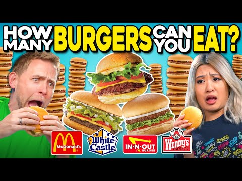 How Many Burgers Can You Eat? | People Vs. Food