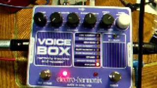 Electro-Harmonix Voice Box #3 - Vocoder