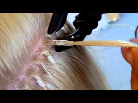 Смотреть видео бесплатно по наращиванию волос