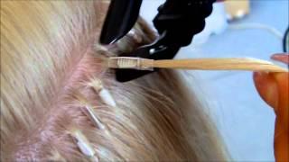 Новое наращивание волос 3D на термогильзы.(, 2012-07-12T13:11:55.000Z)