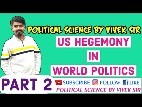 9/11 | US Hegemony In World Politics | NCERT | Political Science