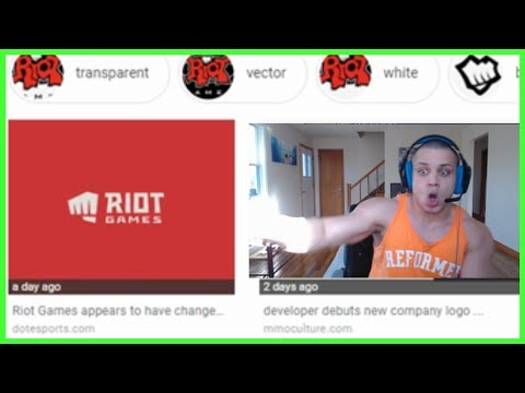 Tyler1 Reacts to New Riot Games Logo - Best of LoL Streams #546