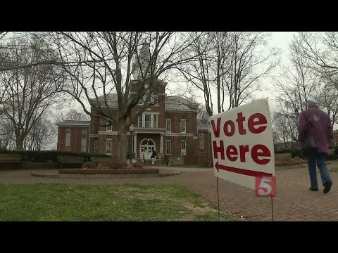 Voters Head To Polls For Ky