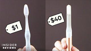 $40 Insta-Famous Quip Toothbrush VS. $1 Drugstore Toothbrush