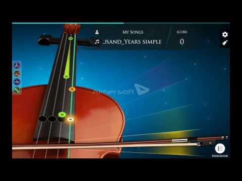 A Thousand Years  Christina Perri Violin version