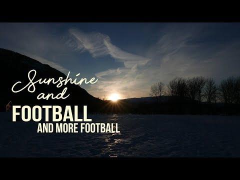 Sunshine and football