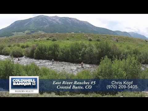 East River Ranches #5, Crested Butte, Colorado, Riverfront Home Site for Sale