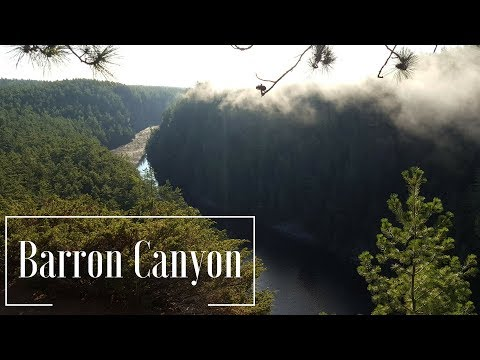 The Barron Canyon