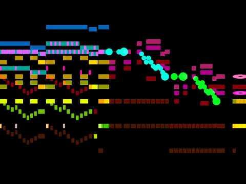 Mozart, Symphony 41, Jupiter, 4th mvt. (shapes)