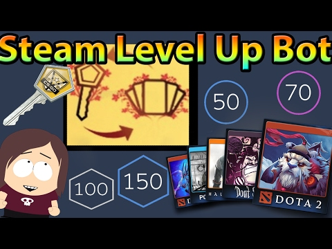 Steam Level Up Bot    The Easiest Way To Craft Badges / Level Up On Steam