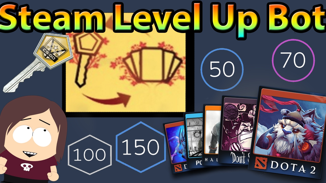 Steam Level Up Bot || The Easiest Way to Craft Badges / Level Up On Steam