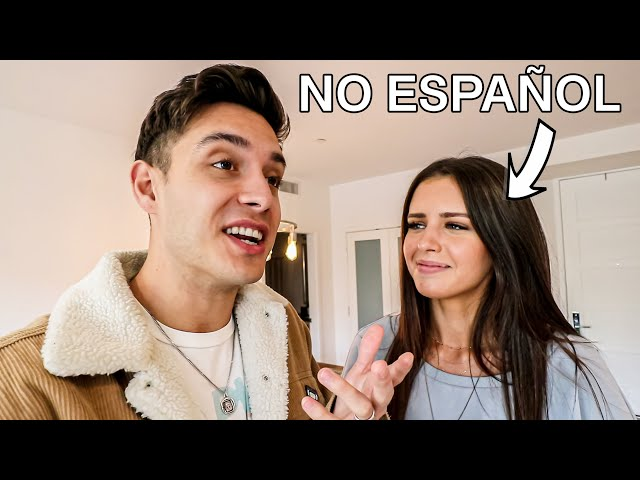 SPEAKING TO MY AUSTRALIAN WIFE ONLY IN SPANISH