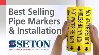 How to Install Our Three Best Selling Pipe Markers | Seton Video