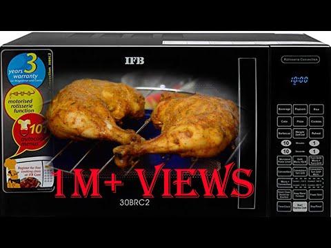 Tandoori Chicken Recipe In IFB Microwave | How To Make Tandoori Chicken In Oven