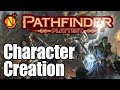 Character Creation for Pathfinder 2nd Edition Playtest