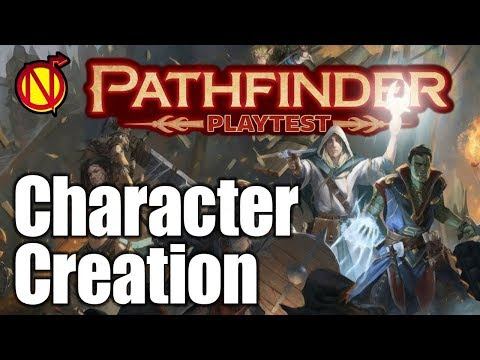 Character Creation in Pathfinder 2E