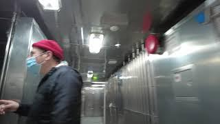 데크6 선원 공용공간, 주방, 식당