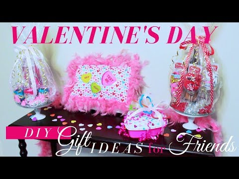 DIY VALENTINE'S DAY GIFTS FOR FRIENDS | VALENTINE'S GIFTS FOR YOUR BFFs