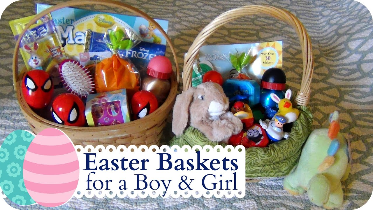 Whats in our easter baskets youtube negle