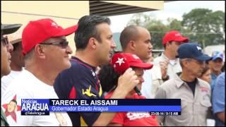 Gobernador de Aragua inspeccionó base de misiones en Mariño 25-08-2014