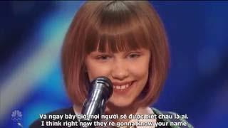 """(Eng+Vietsub) """"Truyền nhân"""" của Taylor Swift - Nút vàng American's Got Talent 2016"""