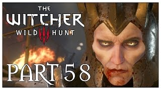 The Witcher 3 (Death March) Part 58: On Thin Ice - Eredin Boss Battle (Gameplay Walkthrough)