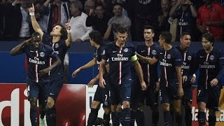 Psg vs barcelona - uefa champions league 2014