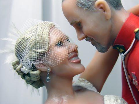 Canadian Fairytale Custom Wedding Cake Topper