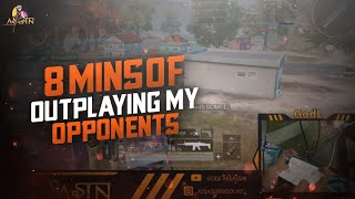 8 MINUTES OF OUTPLAYING MY OPPONENTS | PUBG MOBILE | GODL ASSASSIN
