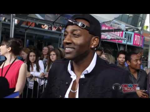 DeStorm Power Interview- 2012 American Music Awards Red Carpet