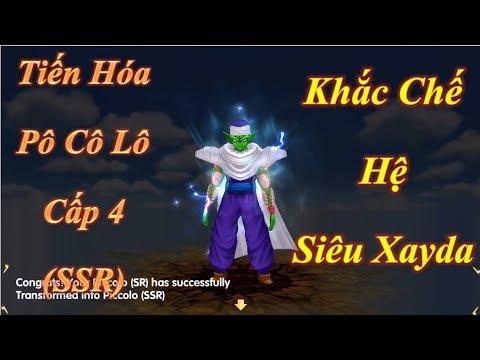 Tiến Hóa PôCôLô Cấp 4 (SSR) Khắc Chế Của Hệ Siêu Xayda - 7 Viên Ngọc Rồng