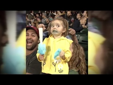 little girl sheds tears