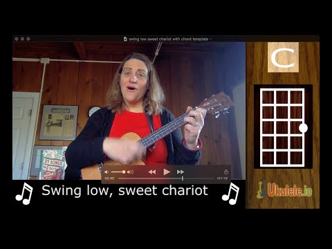 Easy Ukulele Songs - Swing Low Sweet Chariot - 21 Songs in 6 Days: Learn Ukulele the Easy Way